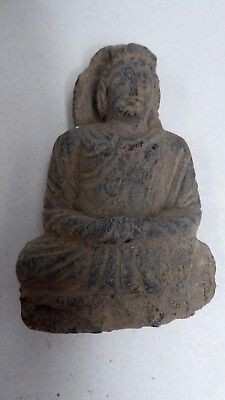 Antique Tibetan Temple Stone Carving Carved Buddha Early Relic - Antiquity