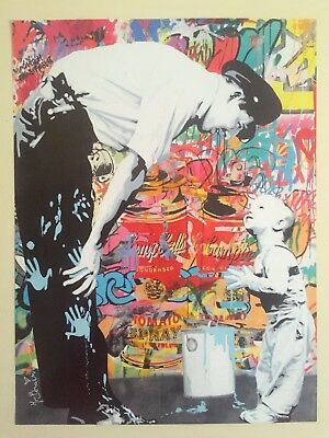 "Mr. Brainwash "" Not Guilty "" Authentic Lithograph Print Pop Art Poster"