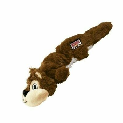 KONG Scrunch Knots Tough Stretchy Animals Knotted Rope  Dog Puppy Toy SQUIRREL
