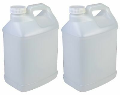 Hudson Exchange 2.5 Gallon Hedpak Container with Cap, HDPE, Natural, Multi-Pack