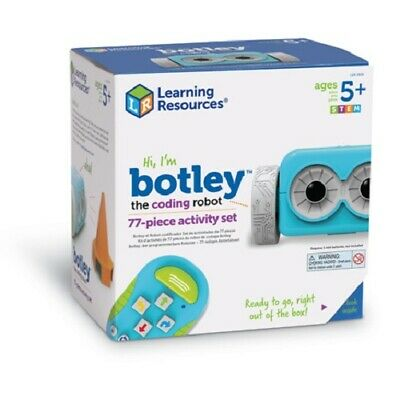 Botley the Coding Robot Activity Set (77 Pieces) | Learning Resources | STEM Toy