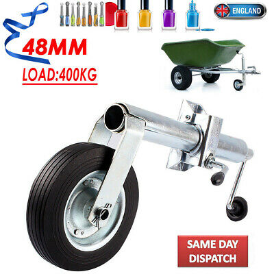 Quality With Clamp 48MM Shaft Jockey Wheel For Trailer 400KG Nose Weight Local