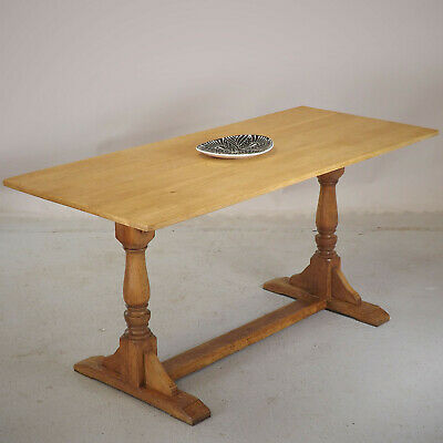 Refectory Dining Table - Oak - Arts & Crafts Era (delivery available)