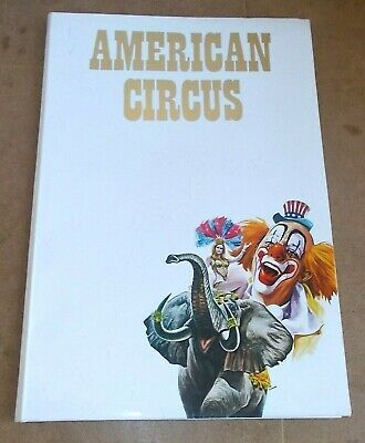 Ancien dossier de presse / vintage press kit - AMERICAN CIRCUS cirque - 1989