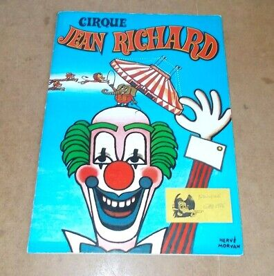 Ancien dossier de presse / vintage press kit - CIRQUE CIRCUS JEAN RICHARD - 1983