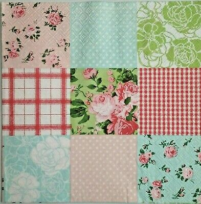 4x paper napkins use for decoupage,Collage Patchwork.Servilletas decoupage