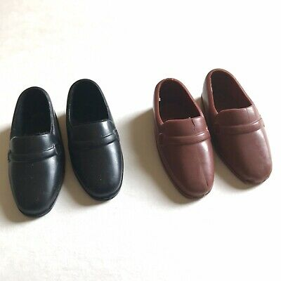 NEW PAIR OF WHITE LOAFER SHOES FOR  KEN DOLL