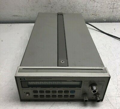 HP 5386A FREQUENCY COUNTER HEWLETT PACKARD 90MHZ -3GHz W/ OPTION 4