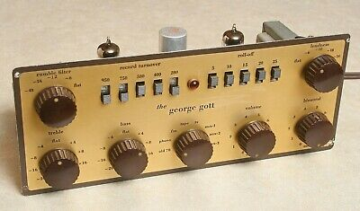 George Gott Gdp 50P Mono Tube Pre Amplifier Made By Bigg Of California