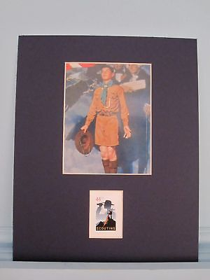 Boy Scouts: Norman Rockwell - Eagle Scout & 100th Anniversary Boy Scout Stamp