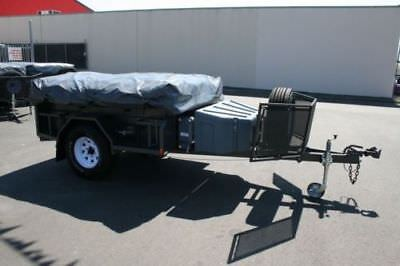 Travel Cover For Camper Trailer Tent, Universal Fit For Most Models,2.4x1.8(M)