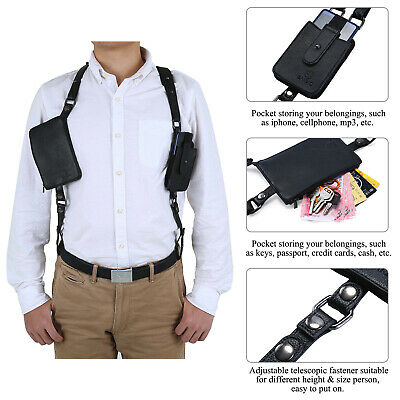 Anti-Theft Hidden Underarm Holster Shoulder Bag Wallet Phone Case for Hand FM
