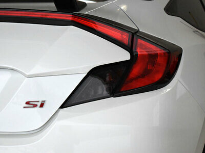 Crux Moto Tail Light Tint Overlay fits Honda Civic Coupe 2016 - 2020
