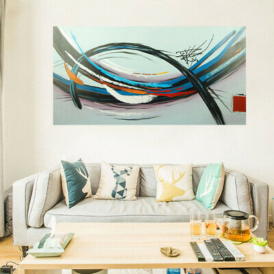 Hand-painted Modern Abstract Art Canvas Oil Painting Home Decor (With Frame)