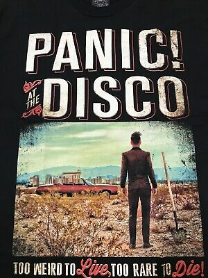 Panic At The Disco - To Weird To Live to rare to Die T Shirt
