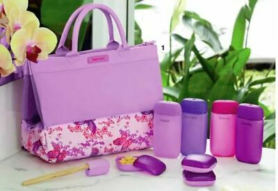 Tupperware Weekender Toiletry Bag and Containers Brand New Unopened
