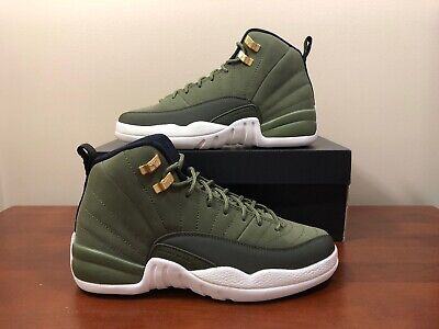 b84d4d8665fe8b Nike Air Jordan 12 Retro Chris Paul Class Of 2003 Olive 153265 301 Size 7Y