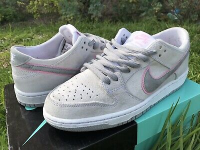 size 40 4c189 9165f NIKE SB ZOOM Dunk Low Pro Ishod Wair White Perfect Pink 895969-160 Size 10