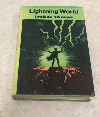 Lightning World Trebor Thorpe Arcadia House 1964 Fortean Sci-Fi Charles Fort