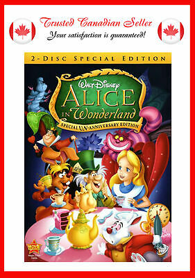 USED Alice in Wonderland (DVD, 2010, 2-Disc Set, Un-Anniversary Special Edition)