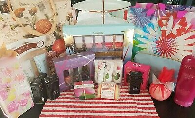Bulk Lot Of Pamper Products Including Nutrimetics and Avon