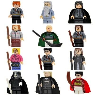 Compatible Lego Harry Potter Minifigure Ron Weasley Dumbledore Snape Malfoy