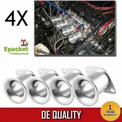 AE86 for Corolla GTS Velocity Stack 20V 4AG ITB/ITBs Air Horn Funnel Silver EK#
