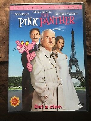 The Pink Panther Special Edition Dvd With Steve Martin In Like New Condition