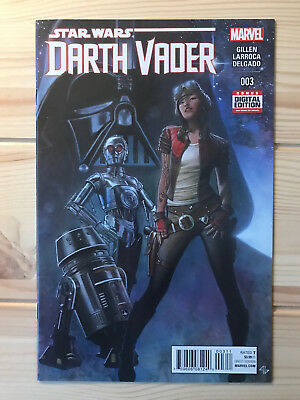 Star Wars Darth Vader #3 first printing 2015 Marvel comic 1st Doctor Aphra NM
