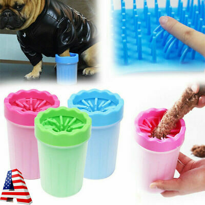 Pet Paw Plunger Mud Cleaner Washer Mudbuster Dog Cat Pet Paw Cleaner Portable US