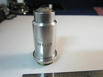 Optique Microscope Objective 40x Allemagne Zeiss Optiques Bin #19