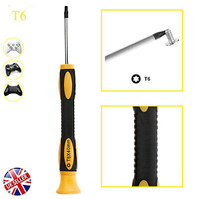 T6 Torx Star Magnetic Standard Tamperproof Screwdriver Tool to XboxOne 360 PS3/4