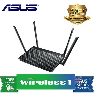 All NEW Asus DSL-AC55U ADSL/VDSL AC1200 Dual-Band Wireless Modem Router