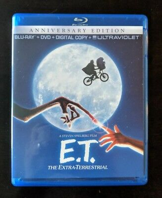 E.T. The Extra-Terrestrial (Blu-ray/DVD, 2012, 2-Disc Set)