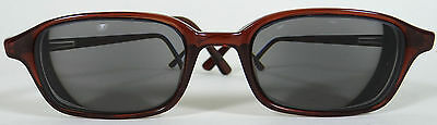 Romco Sunglasses Frames Eyeglasses Glasses Army Issue Rx Brown Rectangle Womens