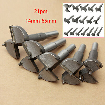 HSS 14-65mm Hinge Forstner Drill Bit Wood Hole Saw Boring Woodworking Cutter