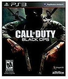 Call of Duty Black Ops I / COD BO1 - SONY PlayStation PS3 Action / Shooter Game