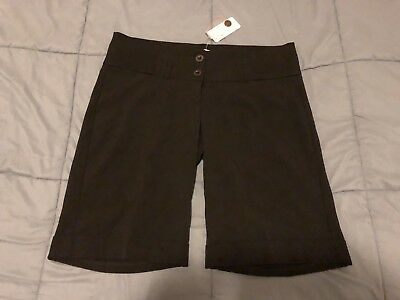 BNWT New Target Maternity Womens Shorts Black Size 8 Business Shorts RRP $35