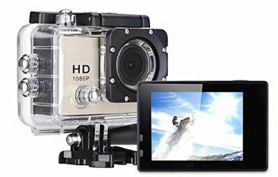 Sport Camera PRO Action Go Movie Cam Full HD 1080 Fino a 30 fps Subacquea 30 mt