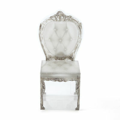 Vintage Style Clear Chair Favours Pack of 10