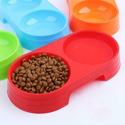 Puppy Exquisite Plastic Food Feeding Water Dish Bowl Feeder For Pet Dog Cats BIG