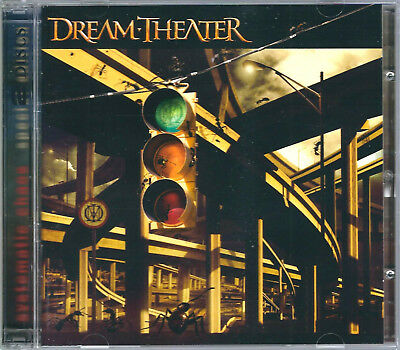 DREAM THEATER Systematic Chaos CD & DVD (2007) *John Petrucci