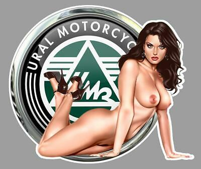 URAL PIN UP right Sticker droite