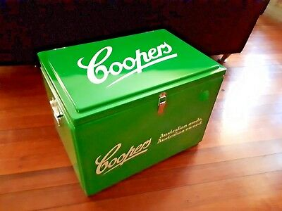 Coopers beer ice box - excellent condition - very rare