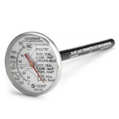 NEW CDN Oven Proof Meat Thermometer