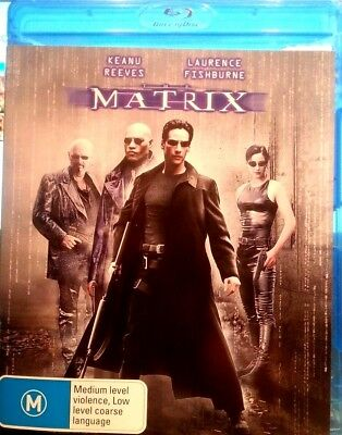 Matrix Blu-Ray Dvd Keanu Reeves Free Post In Australia
