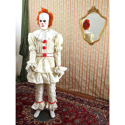 Costume Clown It Pennywise 2017 Deluxe1349Divertilandia