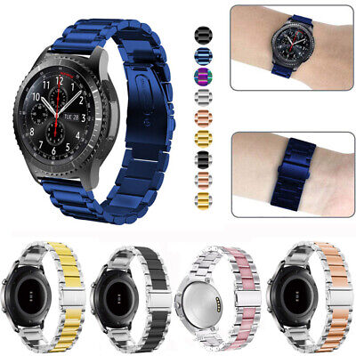 Stainless Steel Metal Watch Band Strap For Samsung S3 / Galaxy watch 46mm