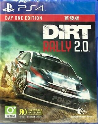 DiRT Rally 2.0 Chinese/English subtitle PS4 BRAND NEW