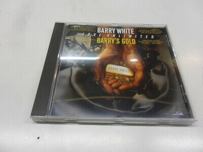 CD  Barry White And  Love Unlimited  – Barry's Gold